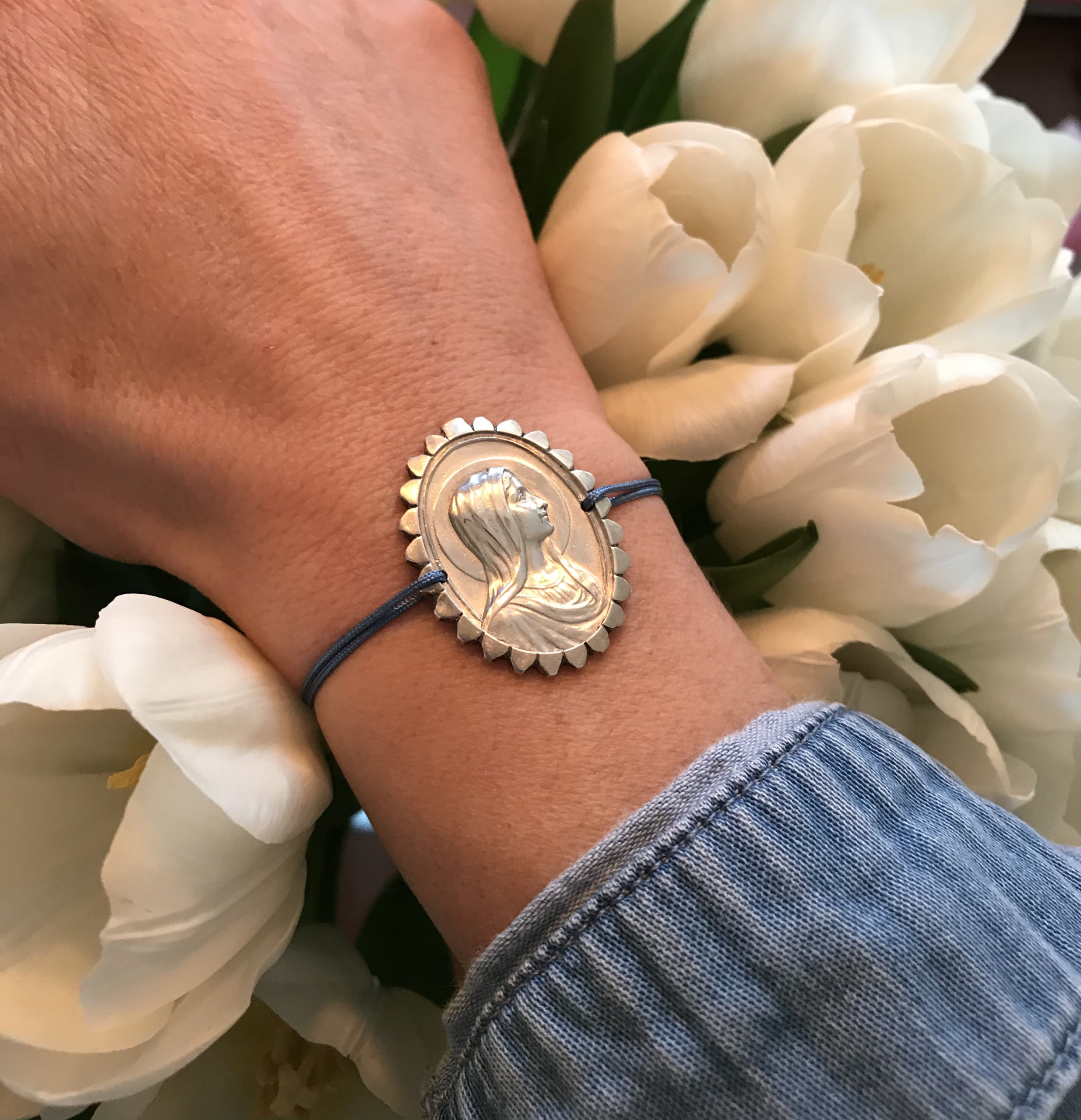 Bracelet Vierge Marie Ancienne